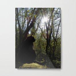 Forest Companion Metal Print