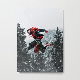 Into the Spiderverse  Metal Print