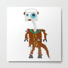 RobOtter Metal Print