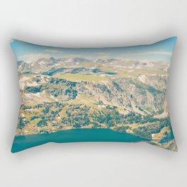 Beartooth Lakes Rectangular Pillow