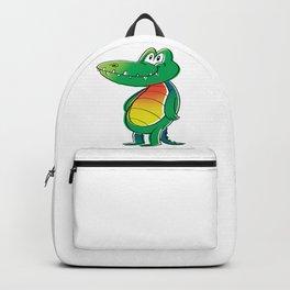 Funny Crocodile Backpack