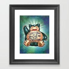 Big Papa! Framed Art Print
