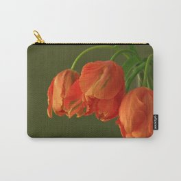 Avignon Parrot Tulips Carry-All Pouch