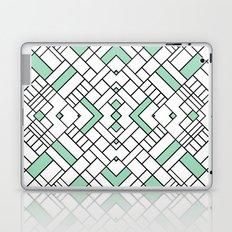 PS Grid 45 Mint Laptop & iPad Skin