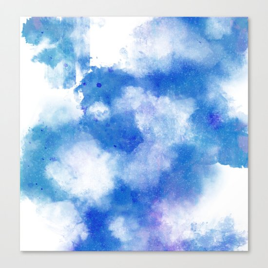 Smoke and Water Canvas Print