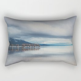 reflections in the water ...  Rectangular Pillow