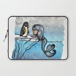 Antarctic Mermaid Laptop Sleeve