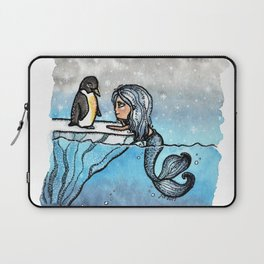 Antarctic Mermaid Laptop Sleeve