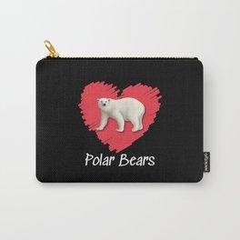Polar Bear Love Carry-All Pouch