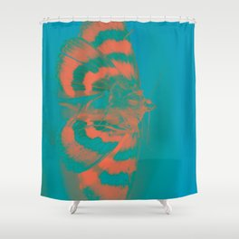 To Flame Shower Curtain