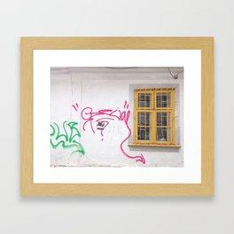 Cluj Graffiti #2 Framed Art Print