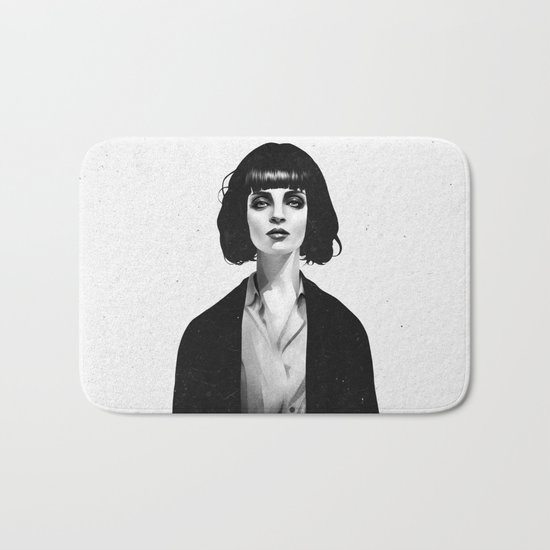 Mrs Mia Wallace Bath Mat