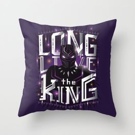 Long live the king v2 Throw Pillow