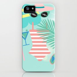 Palm Springs Ready iPhone Case