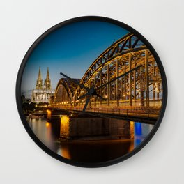 Road to the Dom Wall Clock