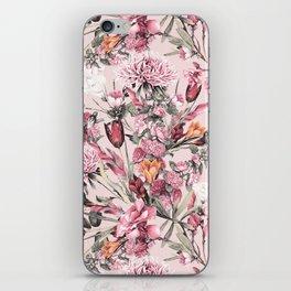 RPE FLORAL XI PINK iPhone Skin