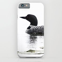 June Loon iPhone Case