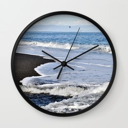GAME of WAVES - Sicily Wall Clock