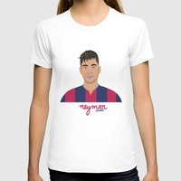 neymar T-shirts featuring NEYMAR - FC BARCELONE by THE CHAMPION'S LEAGUE'S CHAMPIONS
