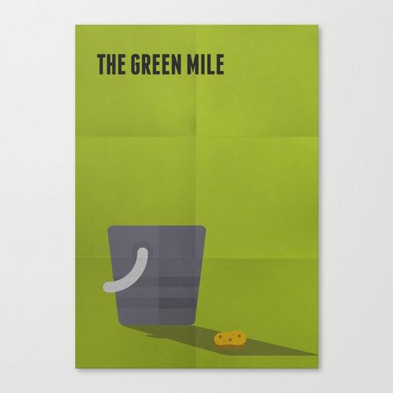 The Green Mile Minimalist Canvas Print