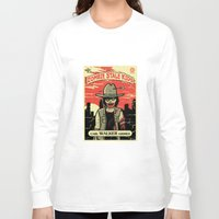 grimes Long Sleeve T-shirts featuring Walker Grimes by Stationjack
