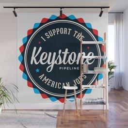 Keystone Pipeline Wall Mural