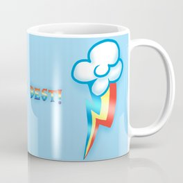 My Little Pony Friendship Is Magic Rainbow Dash Coffee Mug