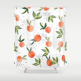 Peach Crush MB002 Shower Curtain
