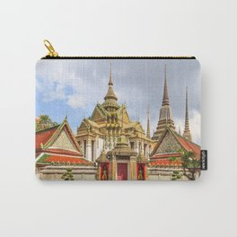Stupas in Wat Pho, Bangkok, Thailand Carry-All Pouch