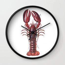 American Lobster Wall Clock