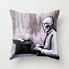 One Of Those On Whom Nothing Is Lost Throw Pillow
