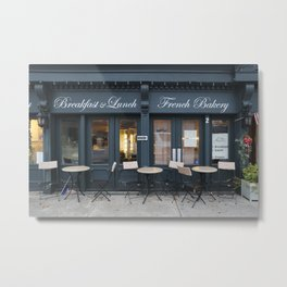 French Bakery 1 Metal Print
