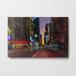 42nd Street NYC 2020 Metal Print