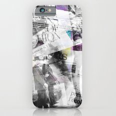 Newspaper collage Slim Case iPhone 6s