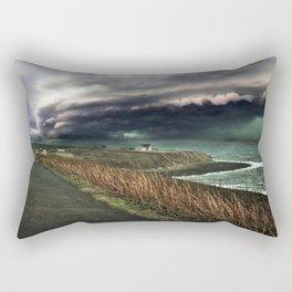 Storm on the Coast Rectangular Pillow