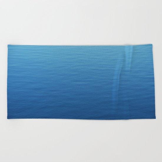 Where did all the waves go? Beach Towel