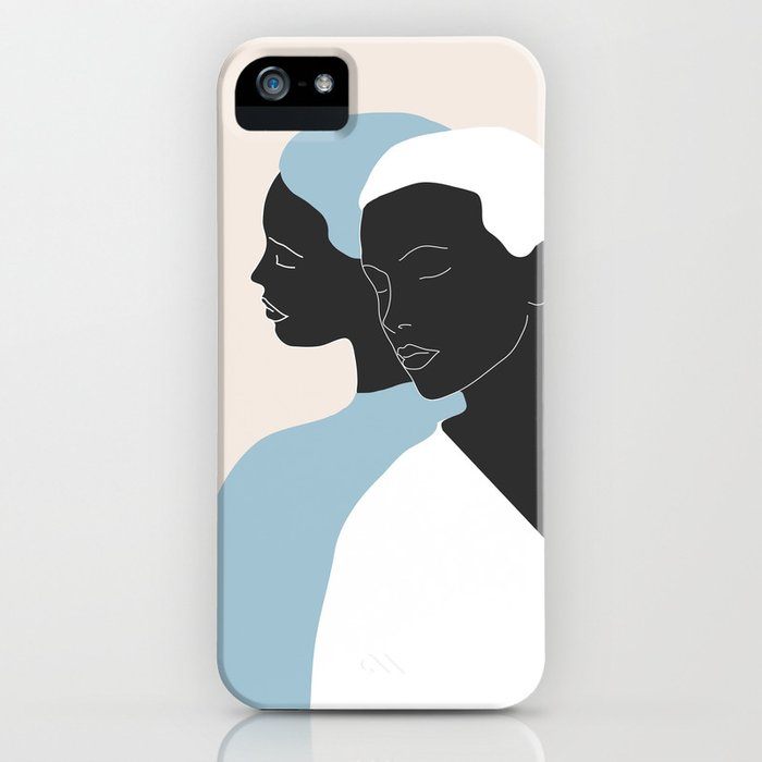 reflection - the mirror iPhone Case