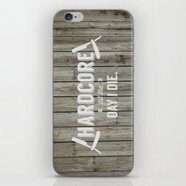 x HARDCORE x iPhone Skin
