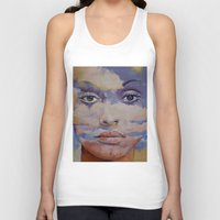 mona lisa Tank Tops featuring Mona Lisa by Michael Creese