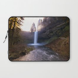 Sun Star Over South Falls Laptop Sleeve