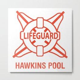 Lifeguard Of Hawkins Pool Vol.1 Metal Print