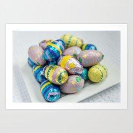 Easter Plate X Art Print