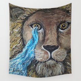 His Eye Upon Me Wall Tapestry