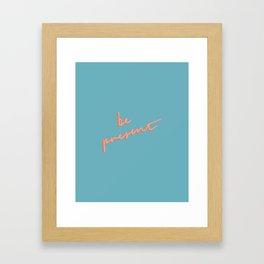 IIIII 29 Framed Art Print
