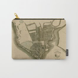 Map Of Quebec City 1835 Carry-All Pouch
