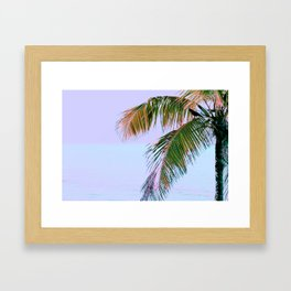 Color and a Crow Framed Art Print