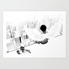 Who you'd be today Art Print