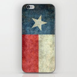 Texas flag iPhone Skin