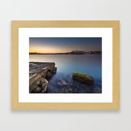 Hospital Harbour Framed Art Print