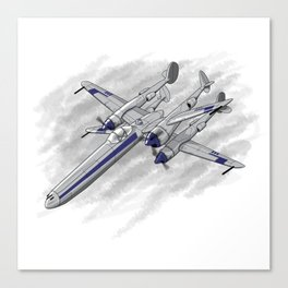 In A Galaxy Not Far Away Canvas Print